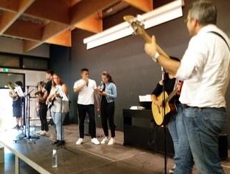 L'atelier musique en concert au lycée