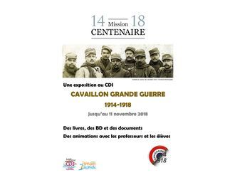 Au CDI >> CAVAILLON GRANDE GUERRE 1914-1918