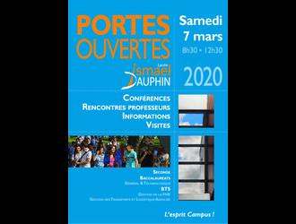 PORTES OUVERTES du Samedi 7 mars 2020