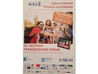 22ème Forum Franco-Allemand