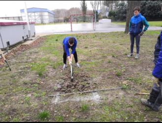 Projet de forêt comestible au lycée Ismaël Dauphin