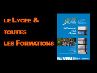 LE LYCÉE ET TOUTES LES FORMATIONS