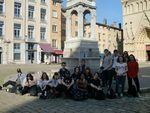 Les élèves d'Arts Plastiques à Lyon